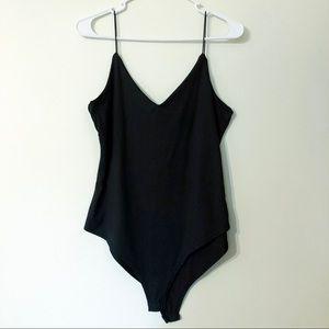 gaze Black Bodysuit